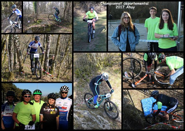 A LA UNE : UNSS - CHAMPIONNAT DEPARTEMENTAL DE VTT - Belle qualification...